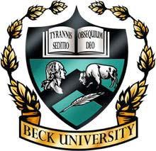Beck University logo