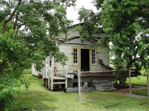 An abandoned house in New Orleans 5 years after Katrina