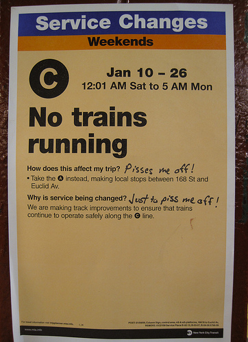 No Trains Running