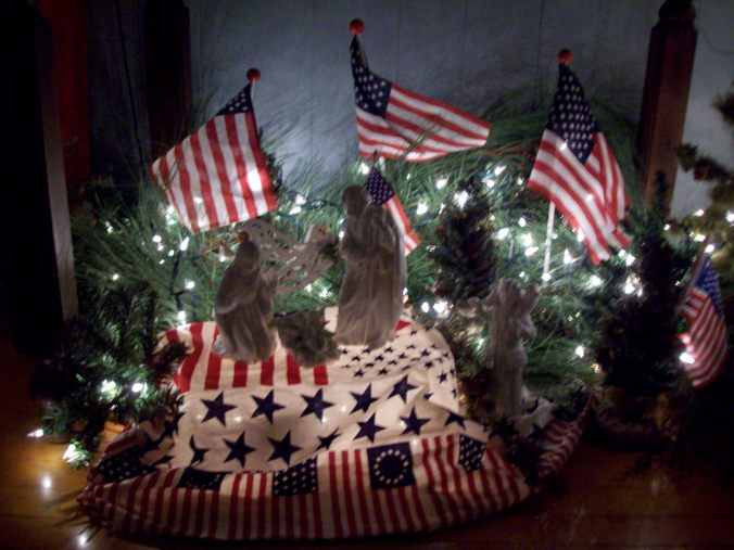 Patriotic Nativity