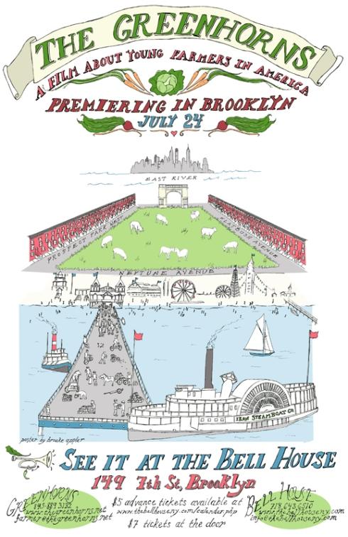 The Greenhorns film in Brooklyn