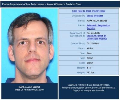 Mark Allan Seldes, convicted rapist
