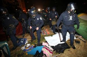Riot Police at Occupy Oakland on Oct.25, 2011