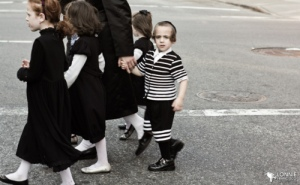 Hasid Family in Williamsburg