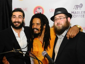"Rohan Marley and Shneur ""DeScribe"" Hasofer"