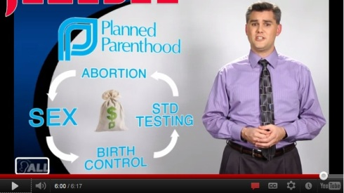 American Life League Planned Parenthood flowchart
