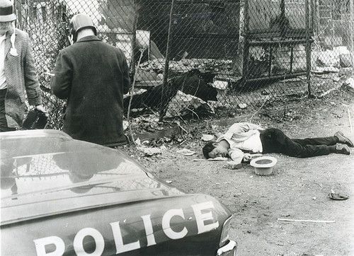 An image from the 1968 Baltimore riots.